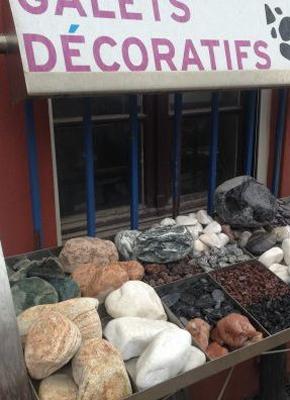 Galets et graviers décoratifs à Bayonne dans les Pyrénées-Atlantiques